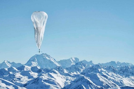 Since June 2013, Google has been running a pilot test of its Project Loon, providing Internet connectivity via hot-air balloons Photo: Engineering and Technology Magazine