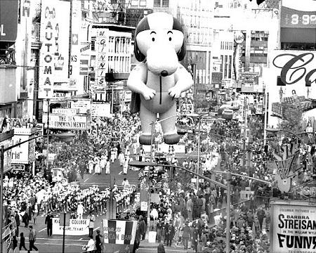 Snoopy.  Photo: NY Daily News