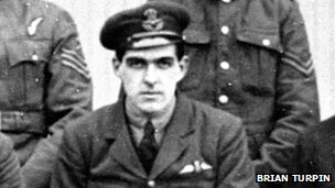 Captain Jack Beckford-Ball flew anti-submarine airships in the First World War.  Photo: BBC.co.uk/Brian Turpin