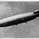 Hindenburg in flight