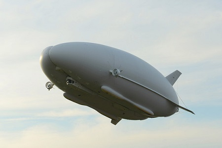 Hybrid Air Vehicles's Airlander. Photo: Hybrid Air Vehicles