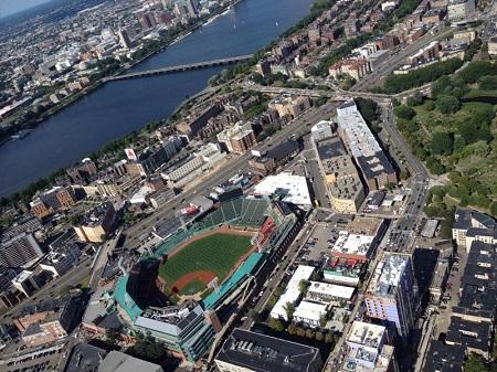 Bird's Eye View of Fenway Park. Photo: bostinno.streetwise.co