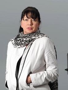 Lyndy Nerandzic, the wife of airship pilot Michael Picture: Simon Bullard