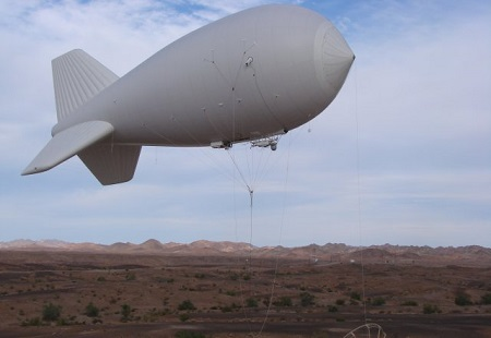 Since Lockheed Martin delivered the first PTDS in 2004, the Army has ordered 66 of the persistent surveillance systems as commanders quickly saw the benefits of having a cost-effective eye in the sky hovering over Iraq and Afghanistan providing around-the-clock surveillance. Photo: Lockheed Martin