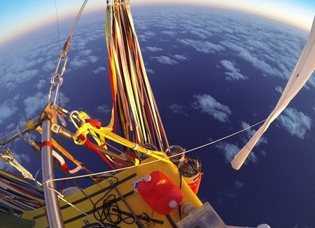 The Two Eagles balloon is capable of staying aloft for up to 10 days . Source: BBC.com