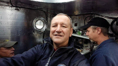 Leonid Tiukhtyaev: Russian balloonist  Photo courtesy of Two Eagles Balloon Team