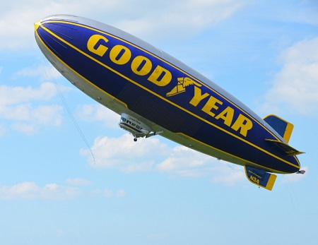 The Spirit of Goodyear. Source: Goodyear Tire & Rubber Co.