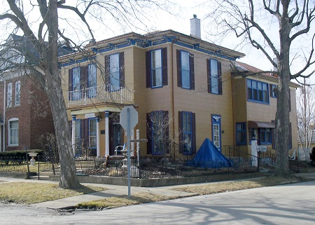 The Lansdowne home in Greenville, Ohio. Photo: © Alvaro Bellon