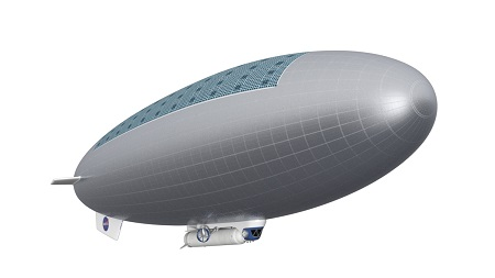 Manned HAVOC Airship.  Another view of a manned HAVOC airship. Credit: Advanced Concepts Lab at NASA Langley Research Center