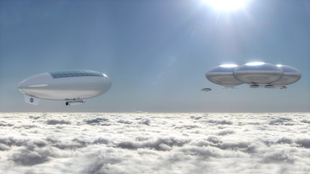 Venus Cloud City. Artist's concept of a Venus cloud city — a possible future outcome of the High Altitude Venus Operational Concept (HAVOC) plan. Credit: Advanced Concepts Lab at NASA Langley Research Center