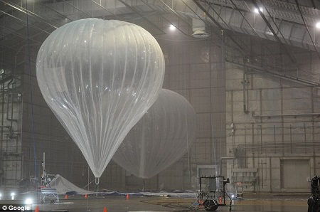 The McKinley Climatic Laboratory at Eglin Air Force Base is used to simulates extreme conditions like sub-zero temperatures, high-speed winds, rain, and snow for tests of fighter jets, bombers, helicopters, etc. Photo courtesy of Wired/Google