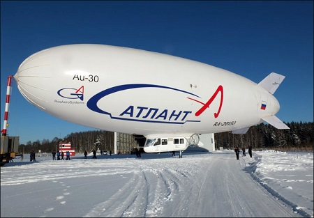 b02 airships for use in northern climate