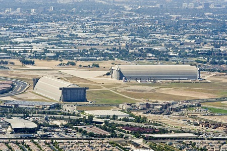 """Plans are advancing to give one of Tustin's historic blimp hangars new life, as part of an """"urban village"""" in the heart of the Tustin Legacy community. Photo: Joshua Sudock - The Orange County Register"""