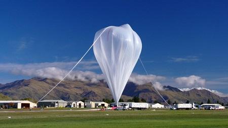May launch of NASA super-pressure balloon.  Credit: NASA