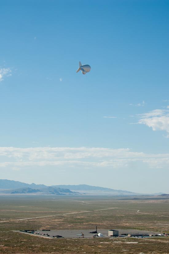 Raytheon's JLENS aerostat takes flight Photo: Raytheon