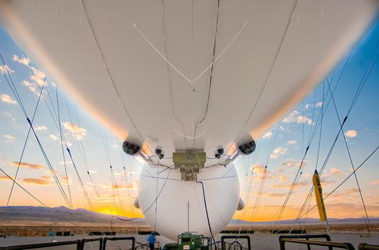 Raytheon's JLENS aerostat Photo: Raytheon