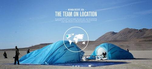 The Team on Location