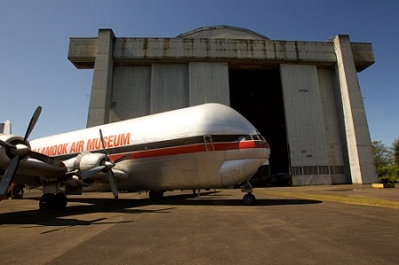 With the collection of World War II aircraft leaving the Tillamook Air Museum, the fate of the blimp hangar owned by the Port of Tillamook is in question. Where will the money needed to repair the historic structure come from? Photo: Doug Beghtel/ The Oregonian