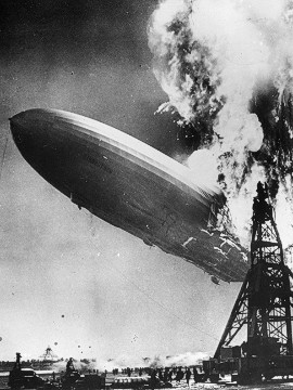 But the Hindenburg disaster at Lakehurst, New Jersey, in 1937, put end to the era of passenger-carrying airships.