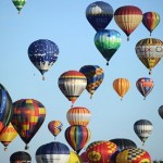 04 408 hot air balloons take off, setting world record