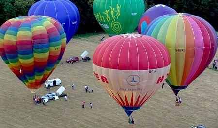 Photo: The Irish Ballooning Association