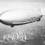 Airship over Manhattan