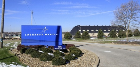 entrance of Lockheed Martin with the air dock in the background Thursday, in Akron. announced Thursday that it will shutter its Akron plant and some other operations around the country. About 4,000 workers, including about 500 positions in Akron, are expected to lose their jobs.  Photo: Karen Schiely - Akron Beacon Journal