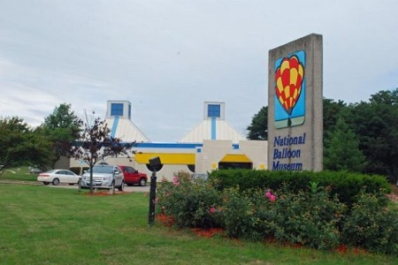 The National Balloon Museum in Indianola, Iowa, is dedicated to educating the public on the history and current developments in the science and sport of ballooning. Photo: Terry Turner