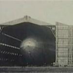 Airship in Hangar