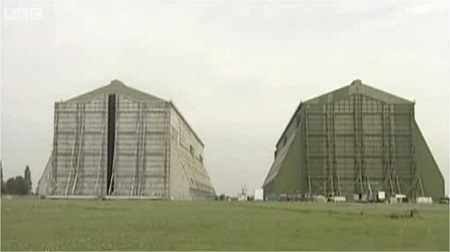 The Cardington Hangars.