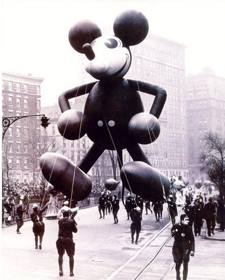 Mickey Mouse's debut in 1934.  Photo:  Forbes.com