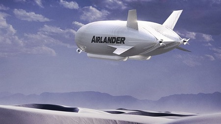 The advantage of modern airships is they can deliver supplies to remote areas, say supporters. Source: BBC.com