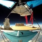 """01 JP Aerospace's """"high rack"""""""