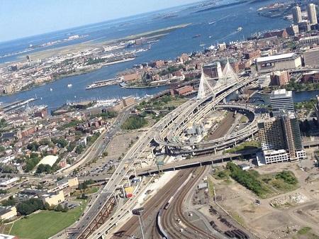 The Zakim Bridge. Photo: bostinno.streetwise.co