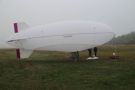 Russia's first unmanned airship, the DP-29 Source: rustechnologies