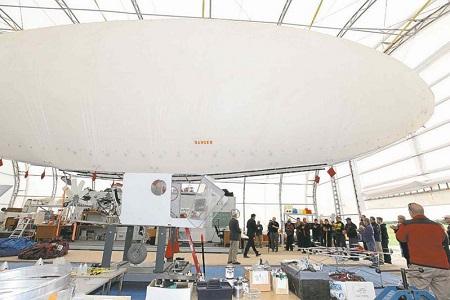 The BASI hangar.  Photo: Ruth Bonneville -Winnipeg Free Press