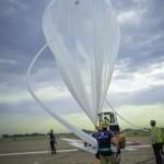 World View personnel prepare the company's balloon sm