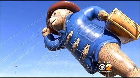 Paddington Bear. Image: Courtesy CBS2 New York