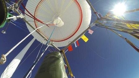 The balloon is set to land in Mexico after weather conditions changed the flight plan. Source: BBC.com