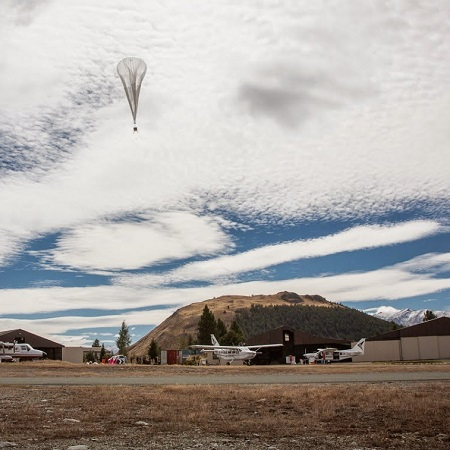 Launch of a Project Loon balloon. Image credit: PCMag.com