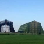 Progress on refurbishment of Cardington Shed one. Credit Trevor Monk.