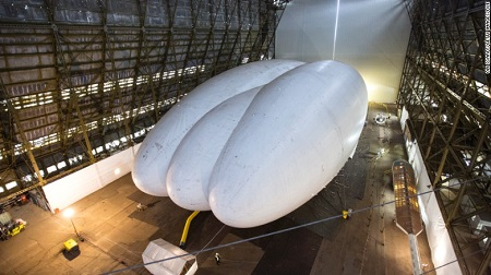 First flights – If tests prove successful, the Airlander could be making its first proper UK flights later in 2016. Source: CNN