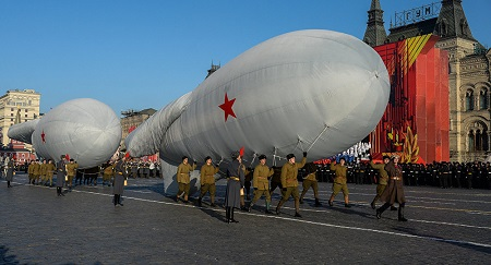 March to mark legendary 1941 military parade. Photo: Sputnik/ Alexander Vilf.