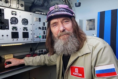 Fedor Konyukhov has faced freezing temperatures and rough weather in his circumnavigation of the globe.  Photo: Briana Shepherd - ABC News