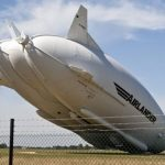 02 Airlander 10 is understood to have suffered damage on its return to Cardington Airfield