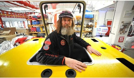 Famous Russian adventurer, Fedor Konyukhov at Cameron Balloons in Bristol ahead of his attempt to set a world-record for travelling around the world in a hot air balloon. Photo: Simon Galloway/Staff © Local World